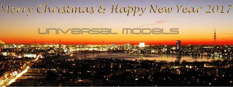 UNIVERSAL MODELS – Christmas-Party 2016