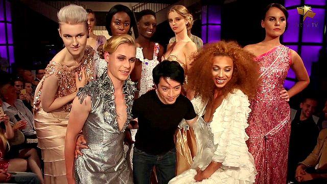 Mit unserem Modelteam auf der Fashion Week Berlin 2016
