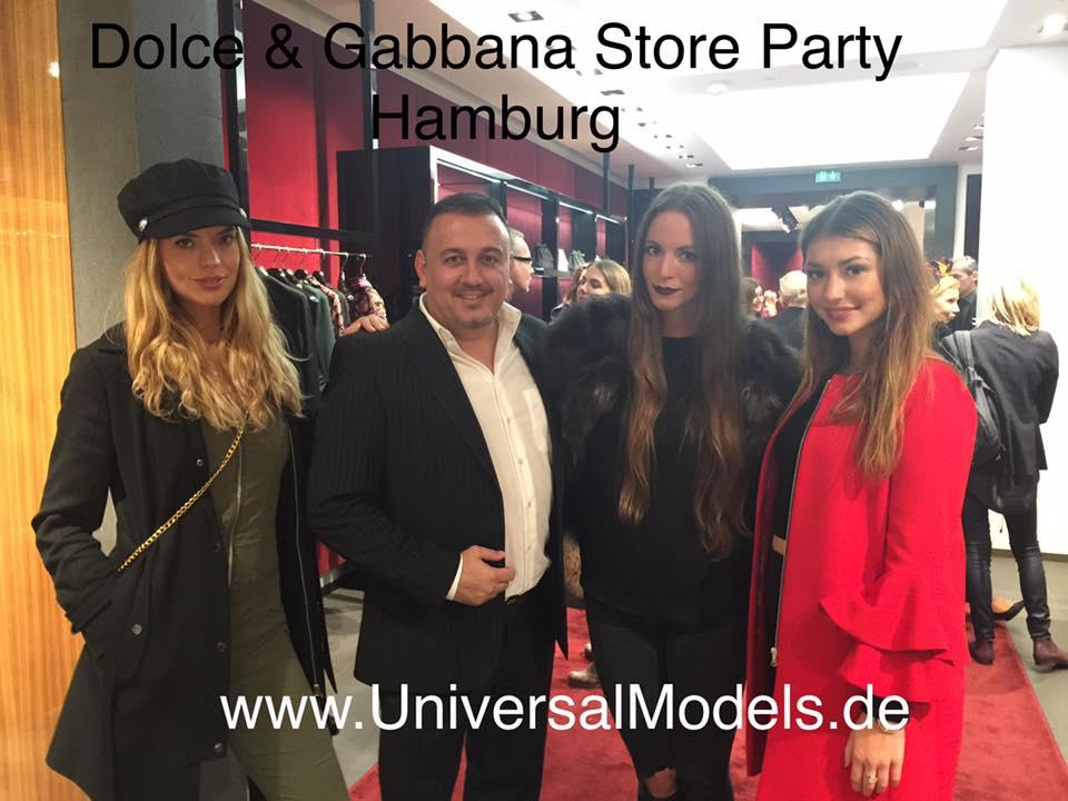 Einladung zur Dolce & Gabbana Store Party in Hamburg